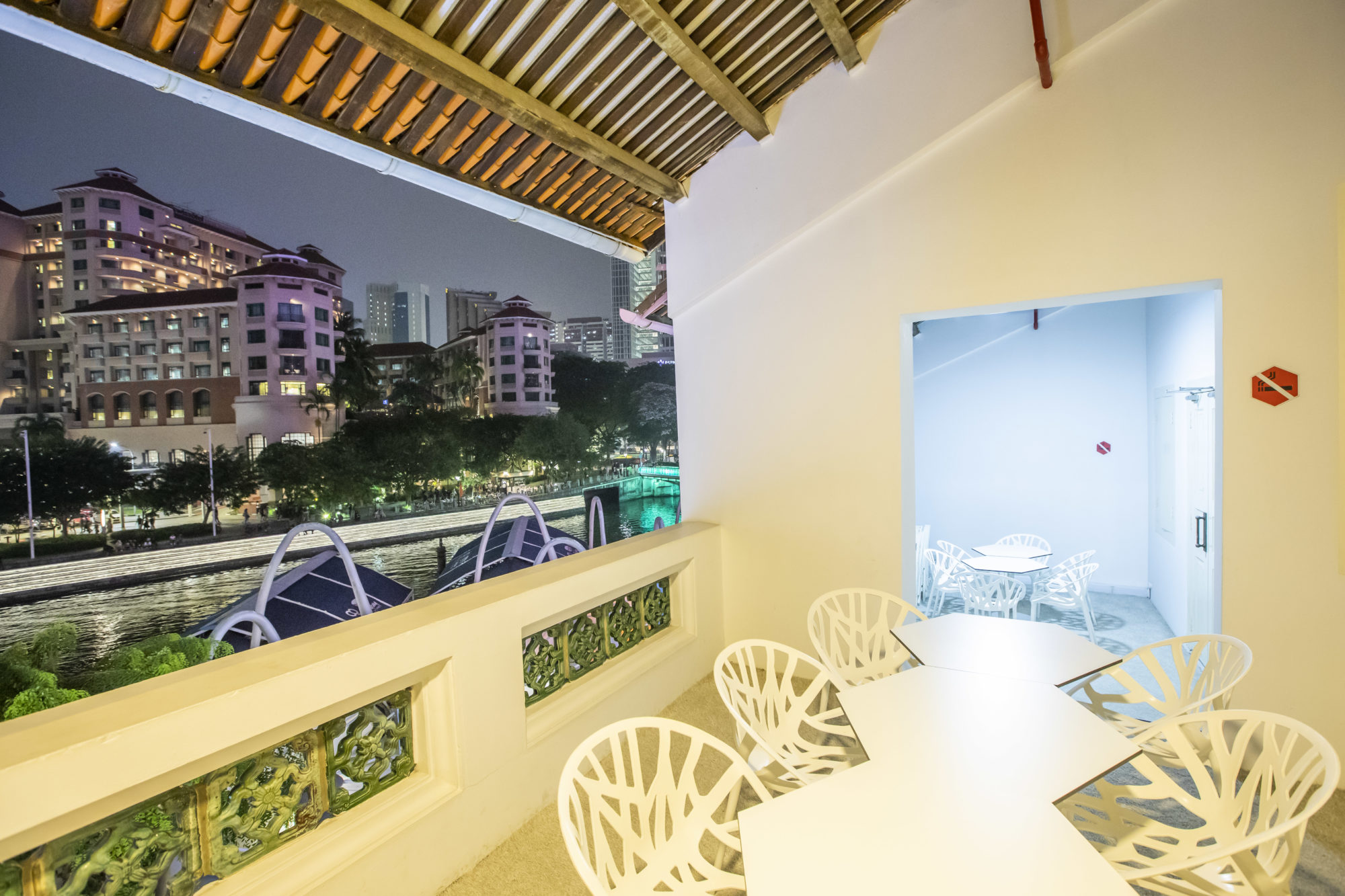 HUONE Singapore Igloo balcony