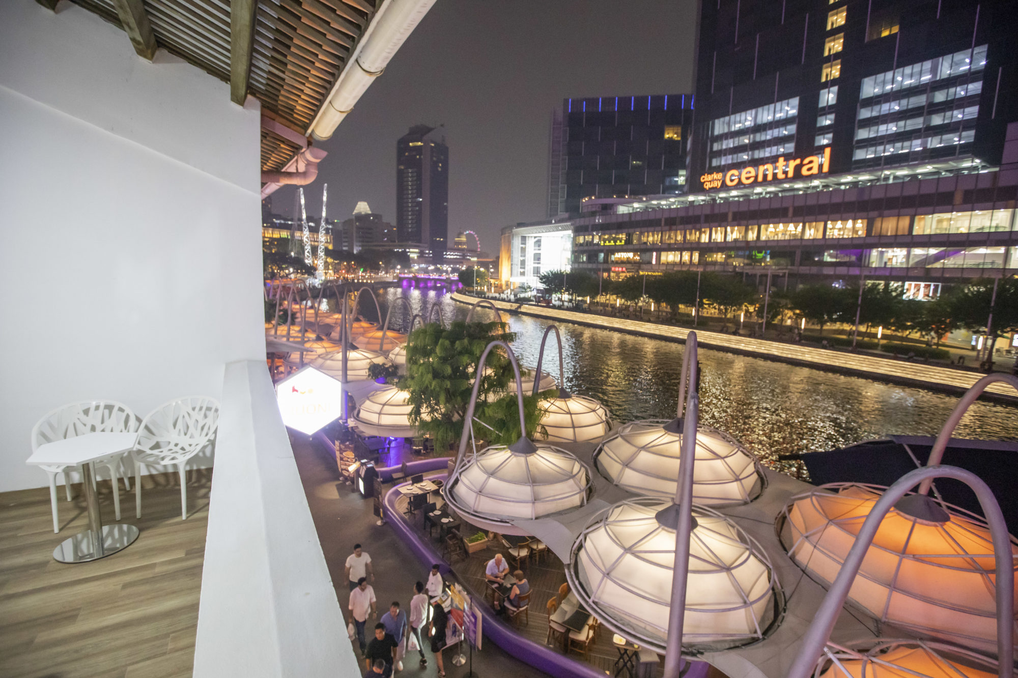 HUONE Singapore Nest Balcony