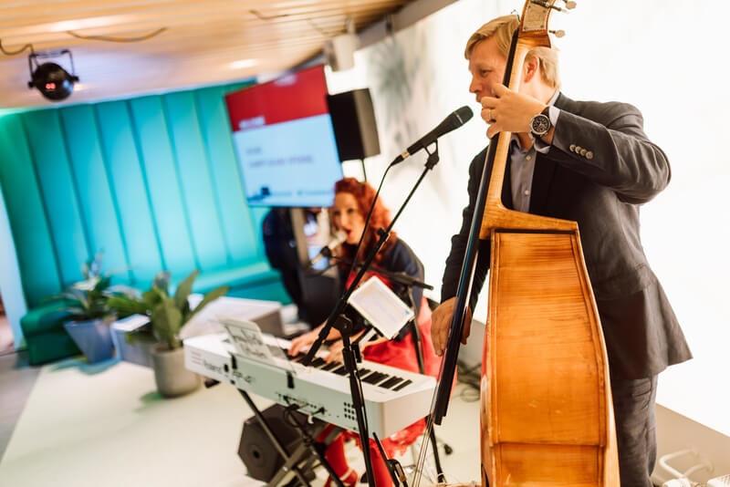 Multi sensory meeting at HUONE Kamppi_Music