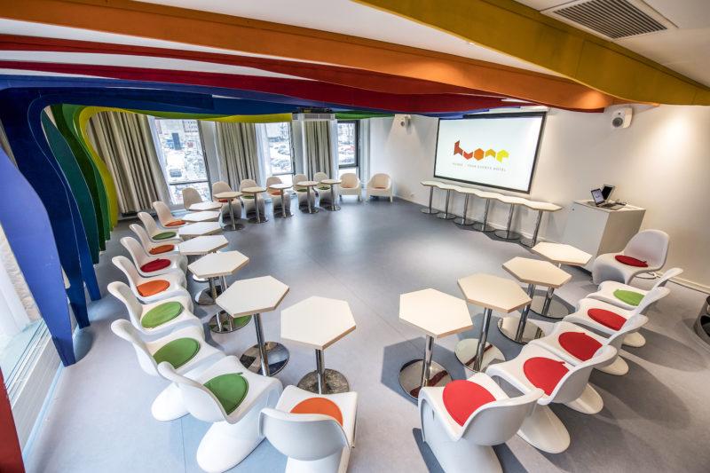 Rainbow room in HUONE Helsinki