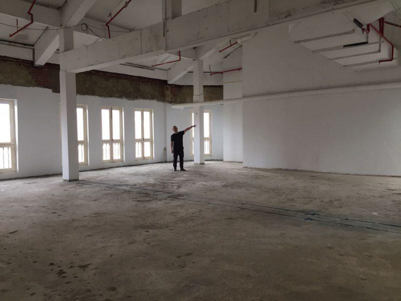 Huone Jätkäsaari under construction