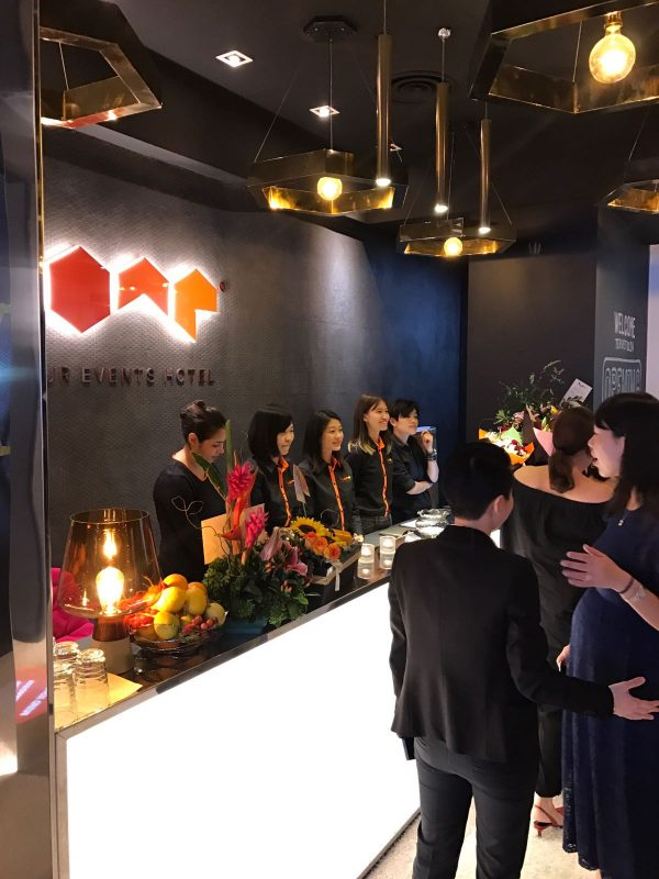 HUONE Singapore opening