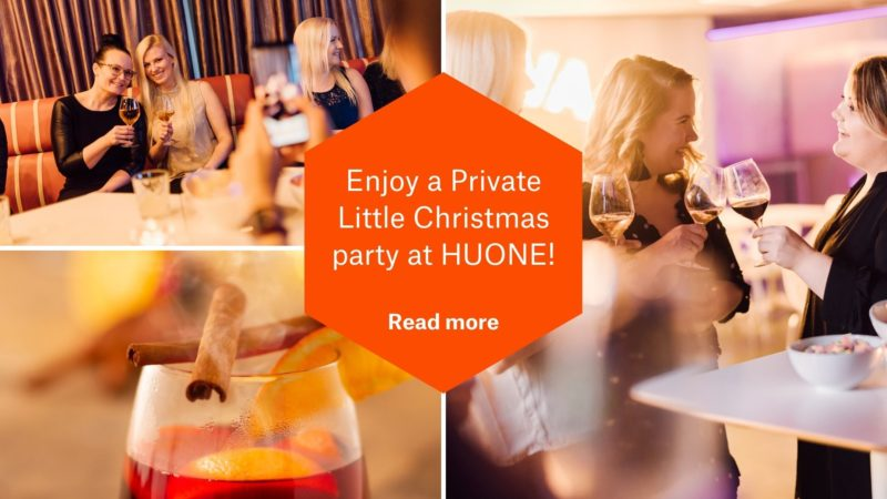Private little christmas Party at HUONE