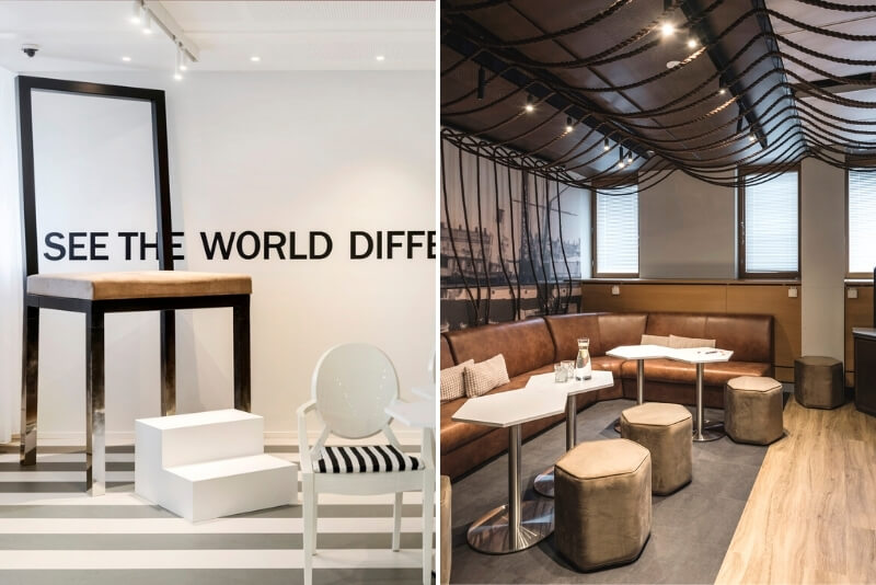 inspirational space for your kickoff at HUONE helsinki